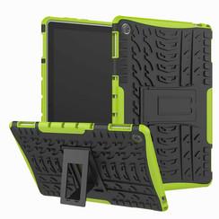 Huawei MediaPad M5 8.4 inch hoes - Schokbestendige Back Cover - Groen