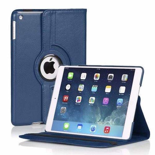Cover2day 360 graden draaibare hoes voor de Ipad 2/3/4 - Donker Blauw