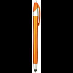 Styluspen voor tablet en smartphone - Oranje