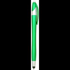 Styluspen voor tablet en smartphone - Groen
