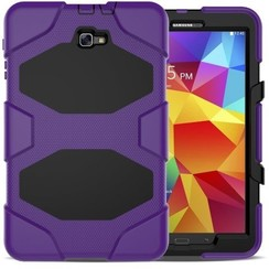 Samsung Galaxy Tab A 10.1 (2016/2018) Extreme Armor Case Paars