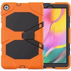 Samsung Galaxy Tab A 10.1 (2019) Hoes - Extreme Armor Case - Oranje