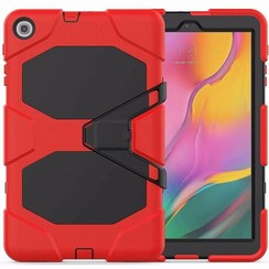 Samsung Galaxy Tab A 10.1 (2019) Hoes - Extreme Armor Case - Rood