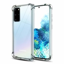Samsung Galaxy A9 (2018) hoes - Anti-Shock TPU Back Cover - Transparant - Copy