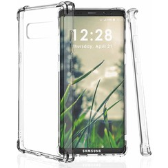 Samsung Galaxy Note 8 hoes - Anti-Shock TPU Back Cover - Transparant