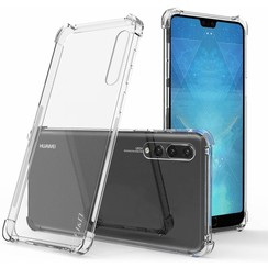 Huawei P20 Pro hoes - Anti-Shock TPU Back Cover - Transparant