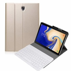 Samsung Galaxy Tab S4 10.5 Bluetooth toetsenbord hoes Goud