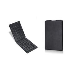 Universeel Bluetooth Toetsenbord - Opvouwbaar Bluetooth Keyboard - Zwart