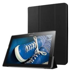 Lenovo Tab 2, Tab 3 en Tab 10 Tri-Fold Book Case Zwart