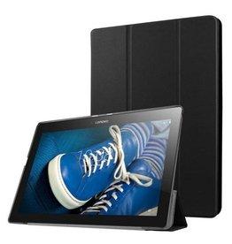 Cover2day Lenovo Tab 2, Tab 3 en Tab 10 Tri-Fold Book Case Zwart