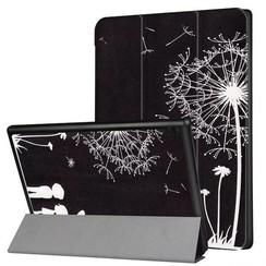 Lenovo Tab 4 10 - Tri-Fold Book Case met Paardebloem