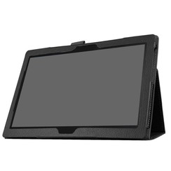 Lenovo Tab 4 10 - flip hoes zwart