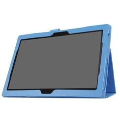Lenovo Tab 4 10 Plus - flip hoes Licht Blauw