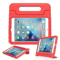 iPad Mini 4 hoes - Schokbestendige case met handvat - Rood