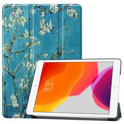 iPad 10.2 inch (2019) hoes - Tri-Fold Book Case - Blocks - Copy
