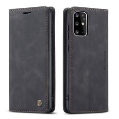CaseMe - Samsung Galaxy S20 Plus hoesje - Wallet Book Case - Magneetsluiting - Zwart