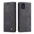 CaseMe CaseMe - Samsung Galaxy A71 hoesje - Wallet Book Case - Magneetsluiting - Zwart