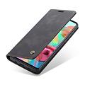 CaseMe CaseMe - Samsung Galaxy A51 hoesje - Wallet Book Case - Magneetsluiting - Zwart