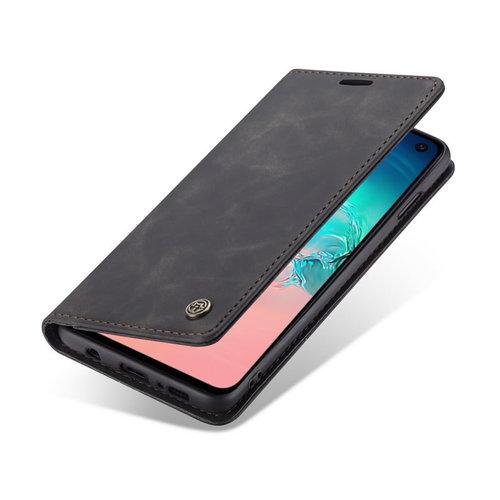 CaseMe CaseMe - Samsung Galaxy S10e hoesje - Wallet Book Case - Magneetsluiting - Zwart