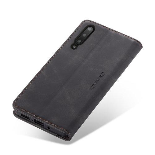 CaseMe CaseMe - Samsung Galaxy A70 hoesje - Wallet Book Case - Magneetsluiting - Zwart