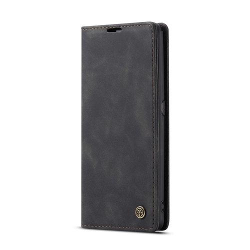 CaseMe CaseMe - Samsung Galaxy A80 hoesje - Wallet Book Case - Magneetsluiting - Zwart