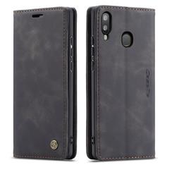 CaseMe - Samsung Galaxy A20e hoesje - Wallet Book Case - Magneetsluiting - Zwart