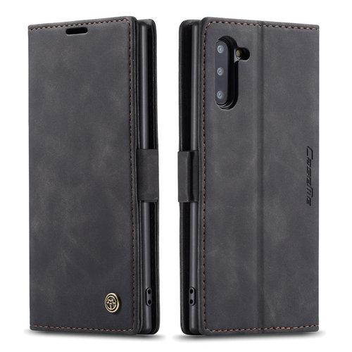 CaseMe CaseMe - Samsung Galaxy Note 10 hoesje - Wallet Book Case - Magneetsluiting - Zwart