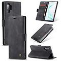 CaseMe CaseMe - Samsung Galaxy Note 10 Plus hoesje - Wallet Book Case - Magneetsluiting - Zwart