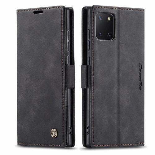 CaseMe CaseMe - Samsung Galaxy Note 10 Lite hoesje - Wallet Book Case - Magneetsluiting - Zwart