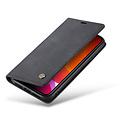 CaseMe CaseMe - iPhone 11 hoesje - Wallet Book Case - Magneetsluiting - Zwart