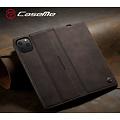 CaseMe CaseMe - iPhone 11 Pro hoesje - Wallet Book Case - Magneetsluiting - Donker Bruin