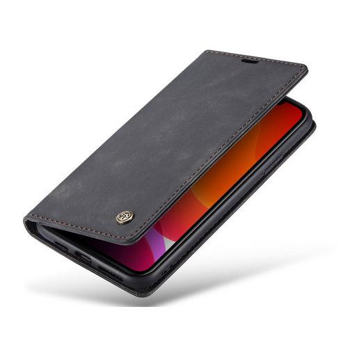 CaseMe CaseMe - iPhone 11 Pro Max hoesje - Wallet Book Case - Magneetsluiting - Zwart