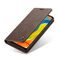 CaseMe CaseMe - Huawei P30 Lite hoesje - Wallet Book Case - Magneetsluiting - Donker Bruin