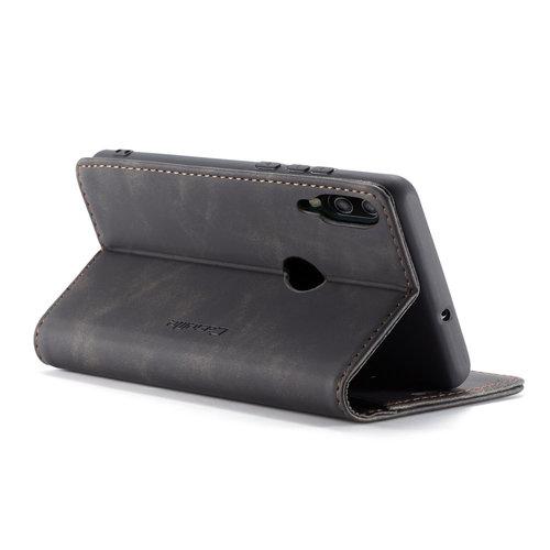 CaseMe CaseMe - Huawei P Smart (2019) hoesje - Wallet Book Case - Magneetsluiting - Zwart