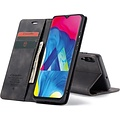 CaseMe CaseMe - Samsung Galaxy A10 hoesje - Wallet Book Case - Magneetsluiting - Zwart
