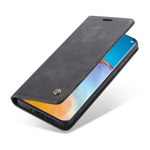 CaseMe CaseMe - Huawei P40 Pro hoesje - Wallet Book Case - Magneetsluiting - Zwart