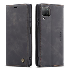 CaseMe - Huawei P40 Lite hoesje - Wallet Book Case - Magneetsluiting - Zwart