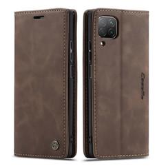 CaseMe - Huawei P40 Lite hoesje - Wallet Book Case - Magneetsluiting - Donker Bruin