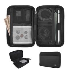 Luxe reis portemonnee - Paspoorthouder - Travel wallet - Zwart