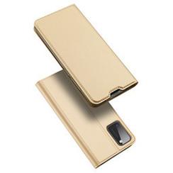 Samsung Galaxy A41 hoesje - Dux Ducis Skin Pro Book Case - Goud