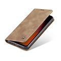 CaseMe CaseMe - Xiaomi Redmi Note 8 hoesje - Wallet Book Case - Magneetsluiting - Licht Bruin
