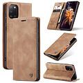 CaseMe CaseMe - Samsung Galaxy A31 hoesje - Wallet Book Case - Magneetsluiting - Bruin