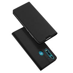 Motorola Moto G8 Power Lite Hoesje - Dux Ducis Skin Pro Book Case - Zwart
