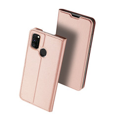 Samsung Galaxy M21 Hoesje - Dux Ducis Skin Pro Book Case - Roze
