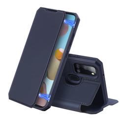 Samsung Galaxy A21s hoesje - Dux Ducis Skin X Case - Blauw
