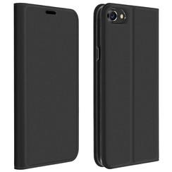 Dux Ducis - Case for iPhone SE 2020 - Ultra Slim PU Leather Flip Folio Case with Magnetic Closure - Grey