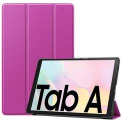 Samsung Galaxy Tab A7 (2020) hoes - Tri-Fold Book Case - Paars