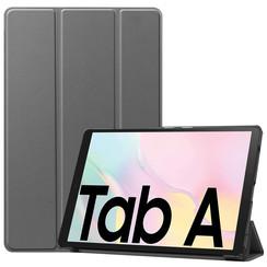 Samsung Galaxy Tab A7 (2020) hoes - Tri-Fold Book Case - Grijs