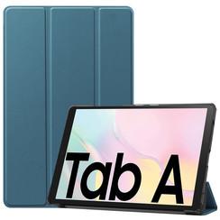 Samsung Galaxy Tab A7 (2020) hoes - Tri-Fold Book Case - Marine Blauw