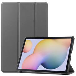 Samsung Galaxy Tab S7 (2020) hoes - Tri-Fold Book Case - Grijs